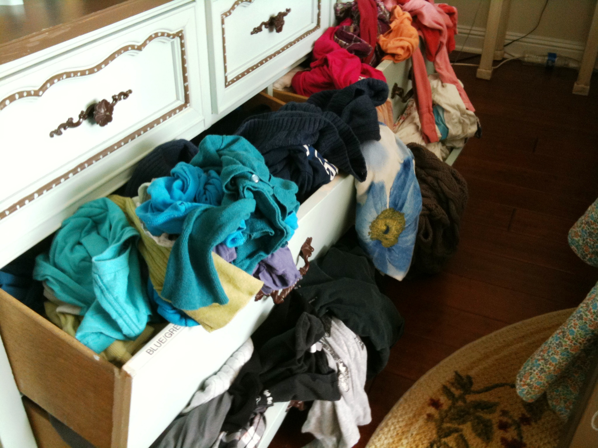 Clothes at home with cheri for Clothes dresser