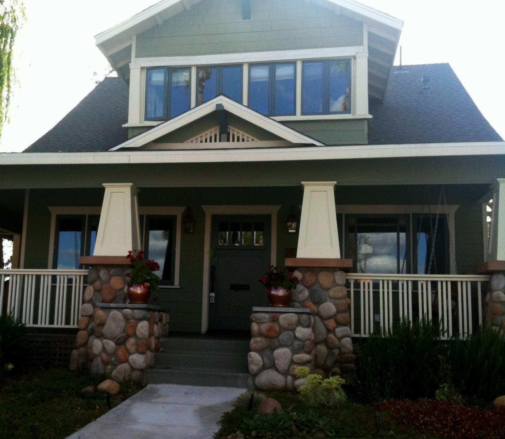 Craftsman style houses at home with cheri for New craftsman homes